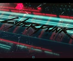 cyberpunk, loading, and start image