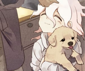 danganronpa, anime, and puppy image