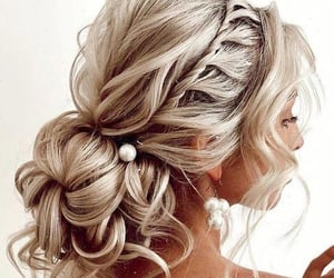 barbie, blonde, and buns image