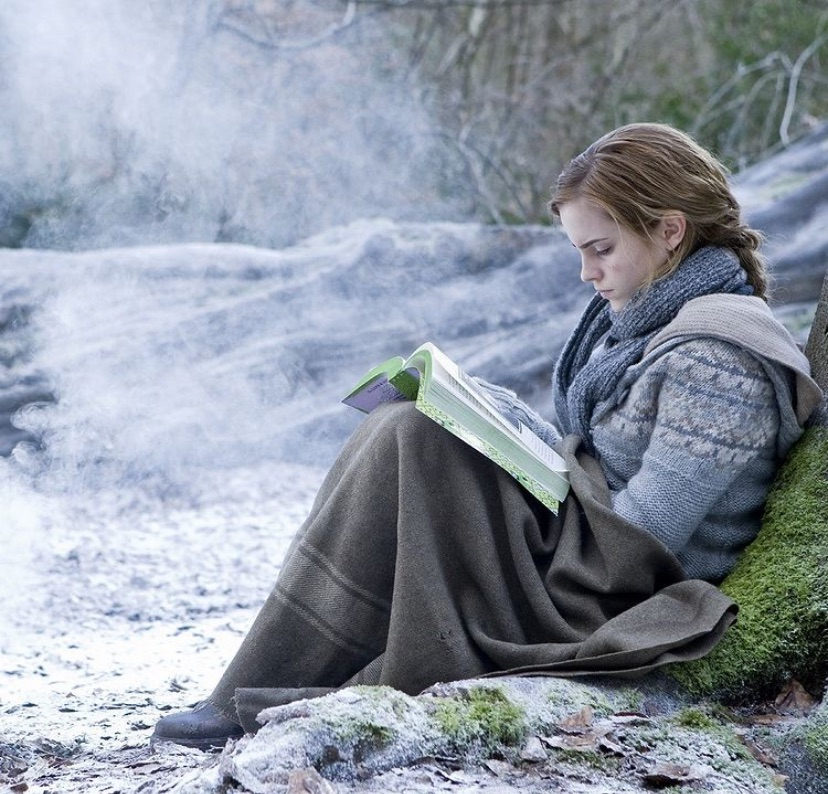 hermione granger, book, and harry potter image