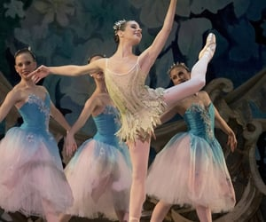 ballerinas, dancers, and on stage image