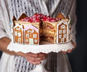sweet, cake, and christmas image