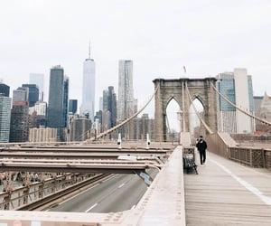 bridge, new york, and nyc image