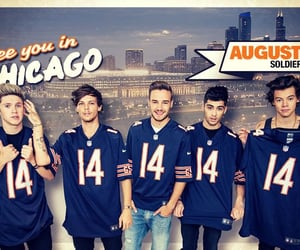 14, one direction, and jersey image
