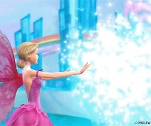fairy, barbie movies, and gif image