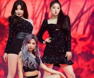 asian, black dress, and girl image
