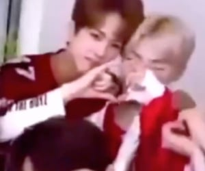 chanhee, the boyz, and younghoon image