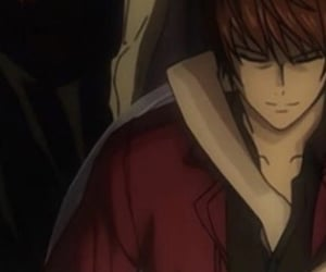 anime, couple, and death note image