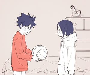 anime, fanart, and volleyball image