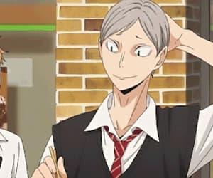 anime, morisuke yaku, and gif image