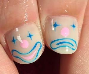 clown and nails image