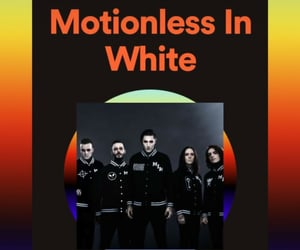 new, motionless in white, and ricky horror image