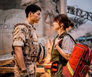 kdrama, song hye kyo, and descendants of the sun image