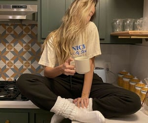 cozy, kitchen, and relax image