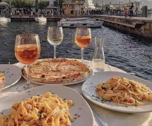 food, pizza, and italy image