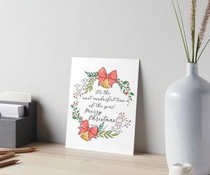 art, home, and christmas present image