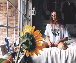 beautiful, interior, and sunflower image