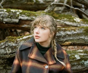 Taylor Swift and evermore image