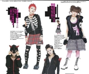 goth, punk, and cute image