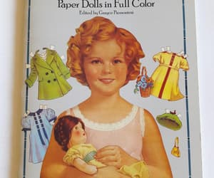 arts and crafts, shirley temple, and activity book image