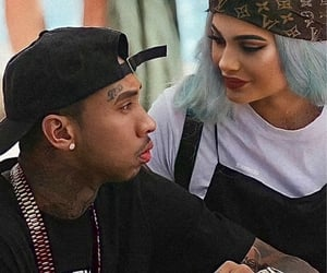 tyga, kylie jenner, and kylie and tyga image