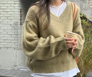 casual, kfashion, and outfits image