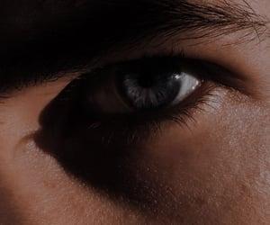 dark, eyelashes, and man image