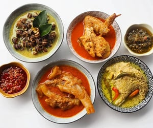Chicken, indonesian food, and curry image