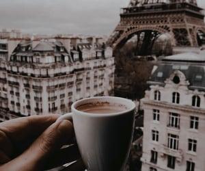 paris, coffee, and city image