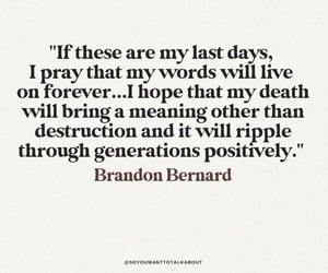 black, death, and bernard image