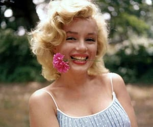actor, blonde, and Marilyn Monroe image