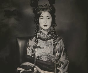 asian girl, retro, and asia image