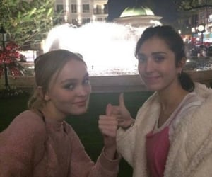 lily rose depp and amelia kring image
