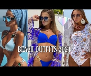 video, beach outfits, and beach image