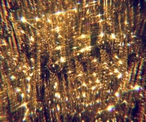 gold, aesthetic, and glitter image