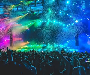 colorfull, dance, and edm image