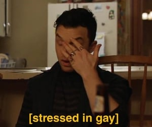 mickey milkovich, reaction pictures, and lgbt meme image