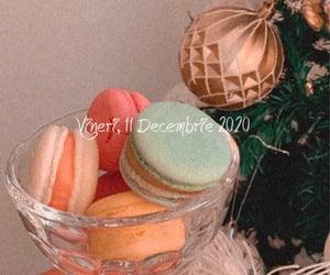 christmas, macarons, and fy image