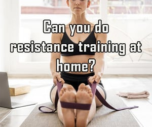 resistance, training, and at home image