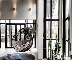 black, decor, and design image