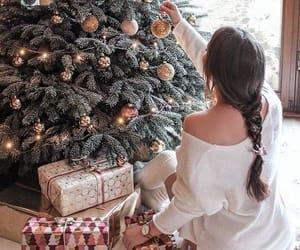 chill, christmas, and christmas lights image