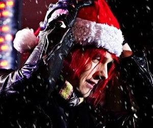 christmas, gee, and santa hat image
