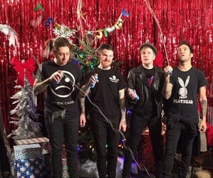 fall out boy, merry christmas, and patrick stump image