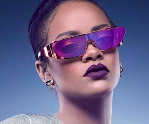 rihanna, dior, and sunglasses image