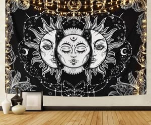 etsy, wall decor, and dorm room tapestry image