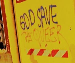 aesthetic, graffiti, and yellow image