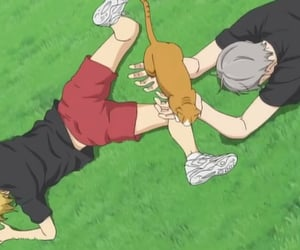 haikyuu, anime, and lev image