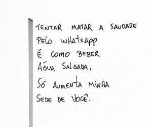 saudade and frases image