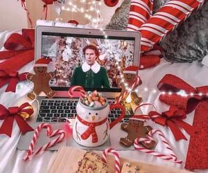 christmas, winter, and theme image