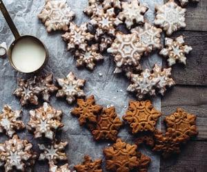 Cookies, christmas, and food image